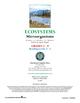 Ecosystems: Microorganisms Gr. 5-8