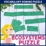 Ecosystems Terms Domino Puzzle