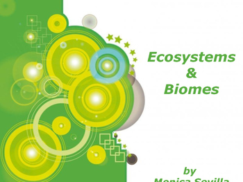 Ecosystems and Biomes ebook pdf