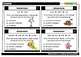 Ecosystems and Feeding Relationships Task Cards
