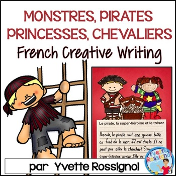 Écriture sans préparation (French Writing prompts) Monstre