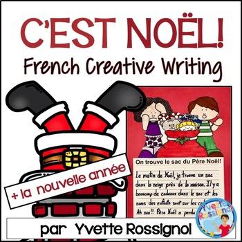 Écriture sans préparation (French Writing prompts) Noel, L