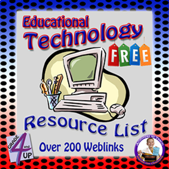 Ed Tech Site Resource List - 200+ Sites for Free Tech Uses