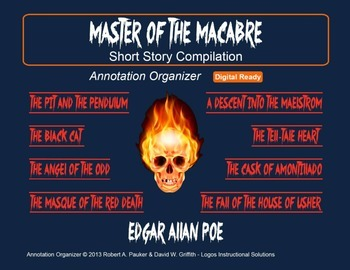 EDGAR ALLAN POE - Master of the Macabre: Short Story Compi