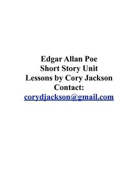 Edgar Allan Poe Short Story Unit