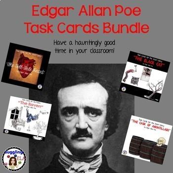 Edgar Allan Poe Task Card Bundle
