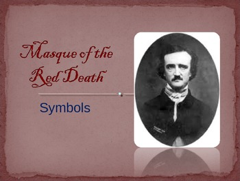 "Edgar Allan Poe ""The Masque of the Red Death"" color symbolism"