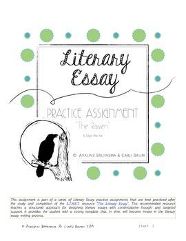 Literary Essay Writing - (Edgar Allan Poe - The Raven) (Ha