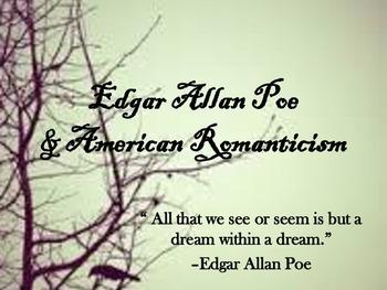 Edgar Allan Poe and American Romanticism
