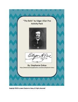 "Edgar Allan Poe's ""The Bells"" Activity Pack"
