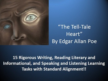 "Edgar Allan Poe's ""The Tell-Tale Heart"" – 15 Common Core L"