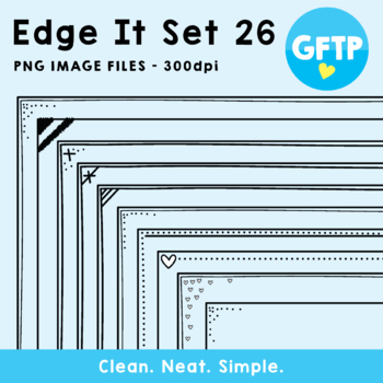 Edge It Borders - Set 26