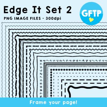 Edge It Set 2 -  Borders Great For Worksheet Edges!