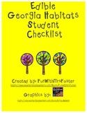 Edible Georgia Habitats Student Checklist