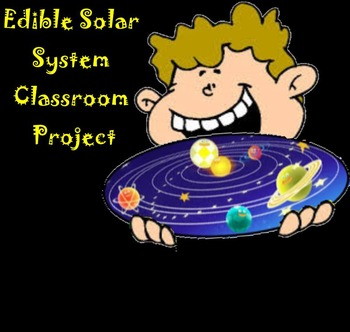 Edible Solar System Classroom Project