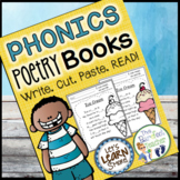 Phonics Poetry Book, Phonics Fill in the Blank, Phonics Or