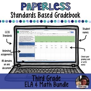 #TPTDIGITAL Paperless Digital Standards Based Gradebook -