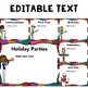 Editable Back to School Night Presentation: Rockstar Theme