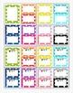 Behavior Clip Chart - Rainbow Polka Dot -Large Set- 15 Col