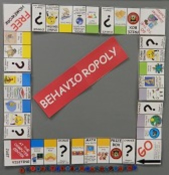 Editable Behavioropoly Game and Cards