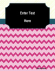 Editable Binder Cover & Spines