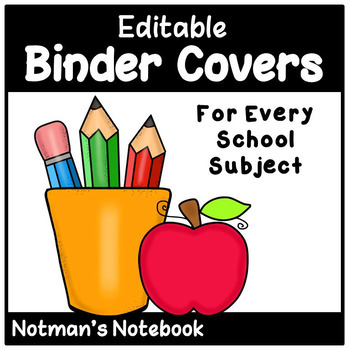 Editable Binder Covers 2