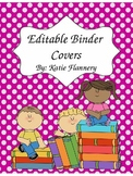 Editable Binder Covers (Powerpoint 2007)