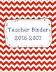 Editable Binder Covers & Spines Nautical Theme