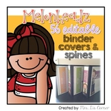 #Vdaydeals 56 Editable Binder Covers and Spines { Melonhea