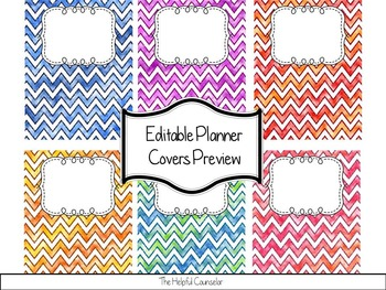 Editable Binder Pages - Organize Your Binders!