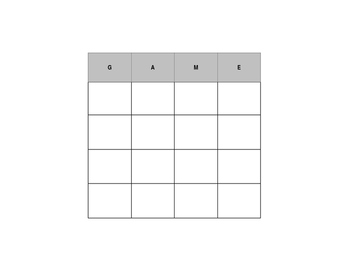 Editable Bingo Card Generator for Vocabulary
