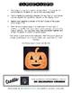 Editable/ Blank Pumpkin-Shaped PUZZLE TEMPLATE