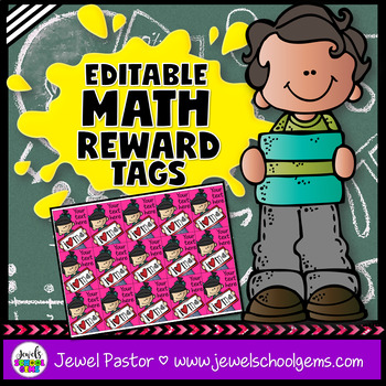 Editable Brag Tags ★ Math Brag Tags ★ STEM Brag Tags