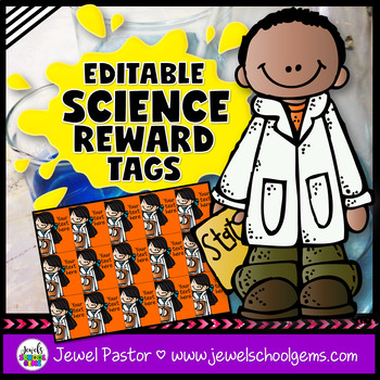 Editable STEM Brag Tags (Science Brag Tags)