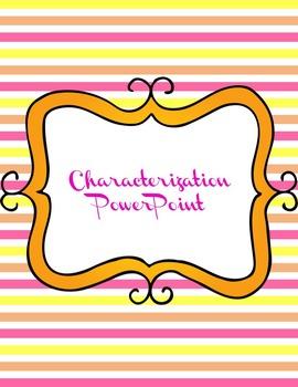 Editable Characterization PowerPoint
