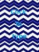 Editable Chevron Multipurpose Backgrounds (binders, poster