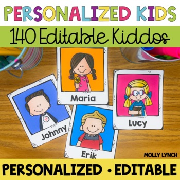 Personalized Student Labels {Editable}