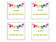 Editable Classroom Supply Labels for Target Adhesive Pockets