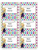 Polka Dot Labels (Editable)