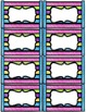 Editable Colorful Classroom Labels