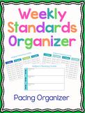 Weekly Standards Organizer