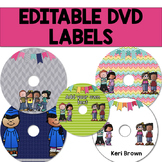 Editable DVD Labels