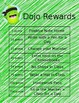 Editable Dojo Rewards Chart