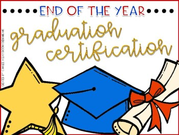 Editable Diploma Certificate Template (End of the Year Award)