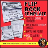 Editable Flip Book Template for Interactive Notebook - Com