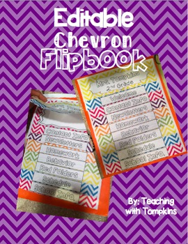 Editable Flipbook (Handbook for: Sub, New Teachers, Parent