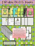Editable Frog Binder Yearlong Communication Kit for Back t