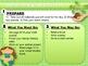 Editable Go Green EARTH DAY Themed Morning Work PowerPoint