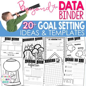 Editable Goal Setting Printables