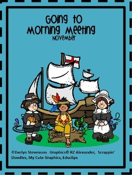 Editable Going To Morning Meeting November